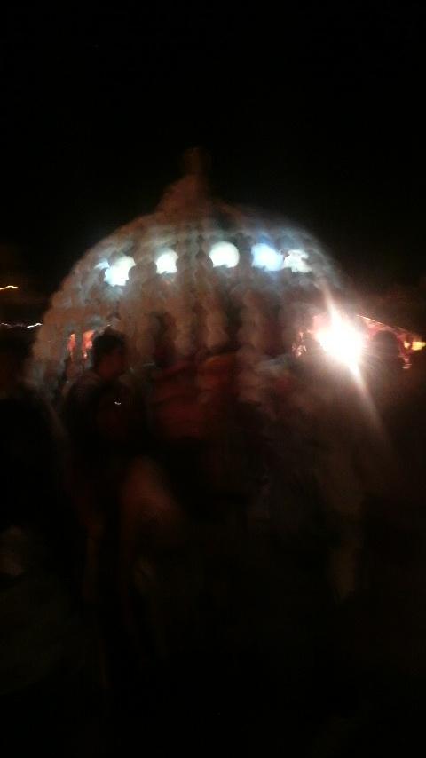 鶴市花傘鉾祭りに行って来ました。